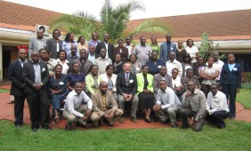Participants of the Estate Agency course taught by David Michonski in Nairobi